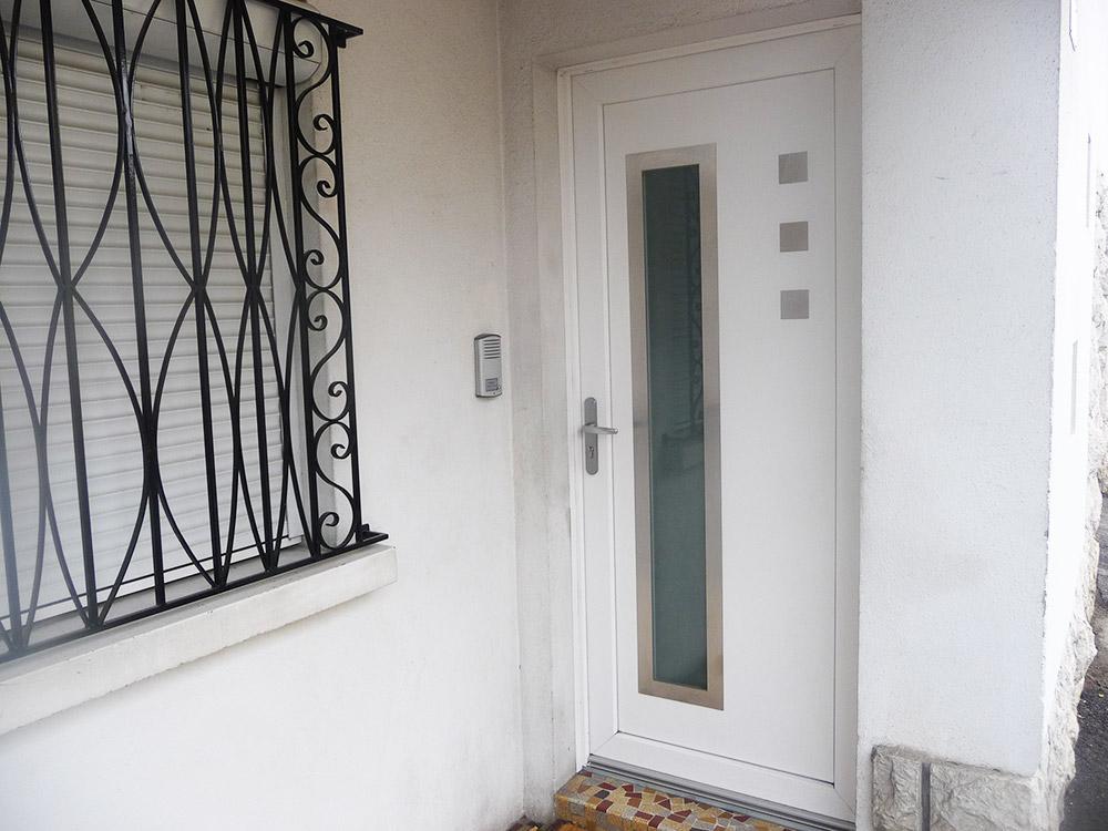 Porte d'entrée PVC à Tarbes