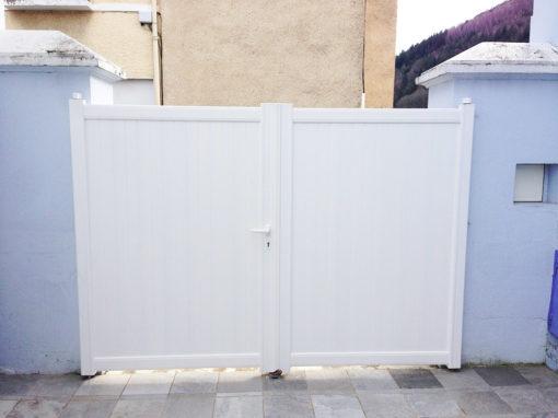 Portail et clôture – Lourdes