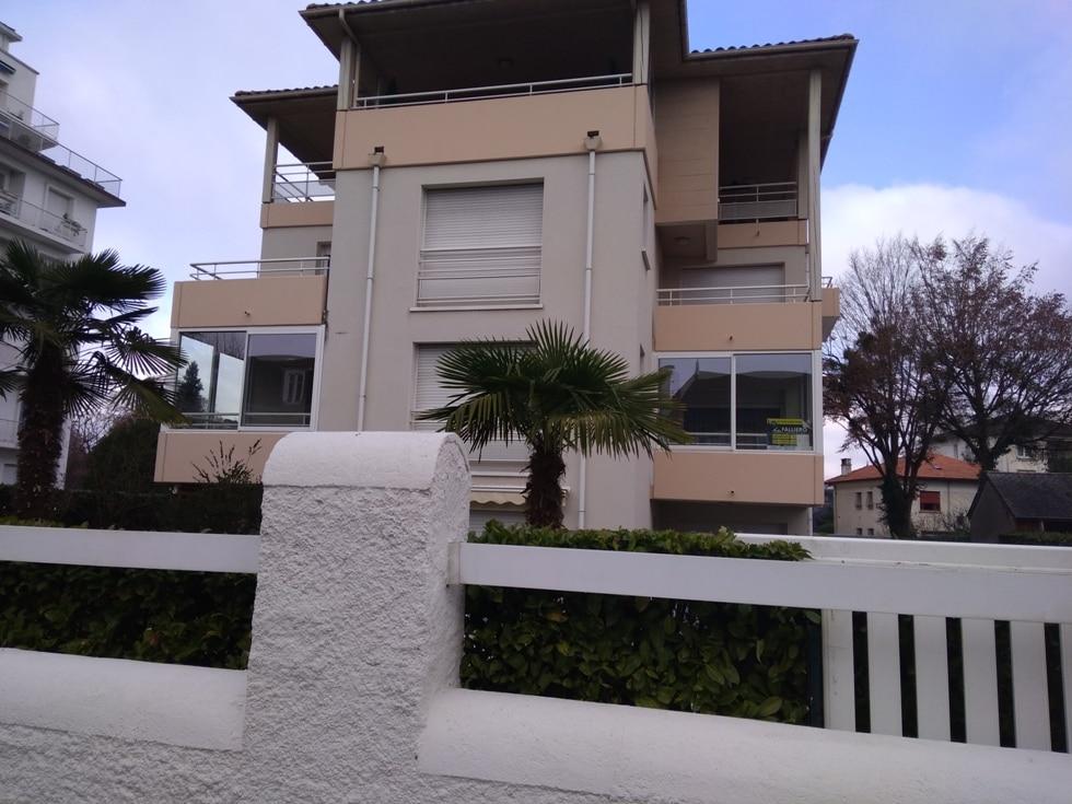 Fermeture de balcon en aluminium à Pau