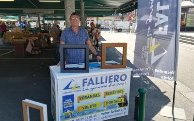 Falliero présent sur les marchés de la région !