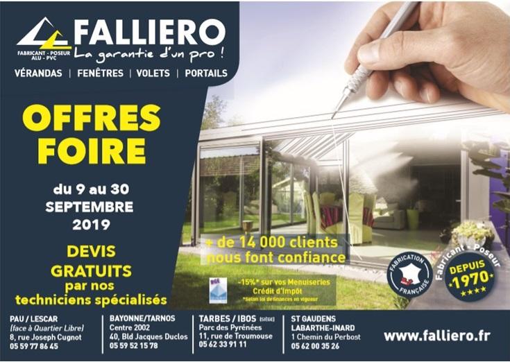 OFFRES FOIRE DE SEPTEMBRE 2019