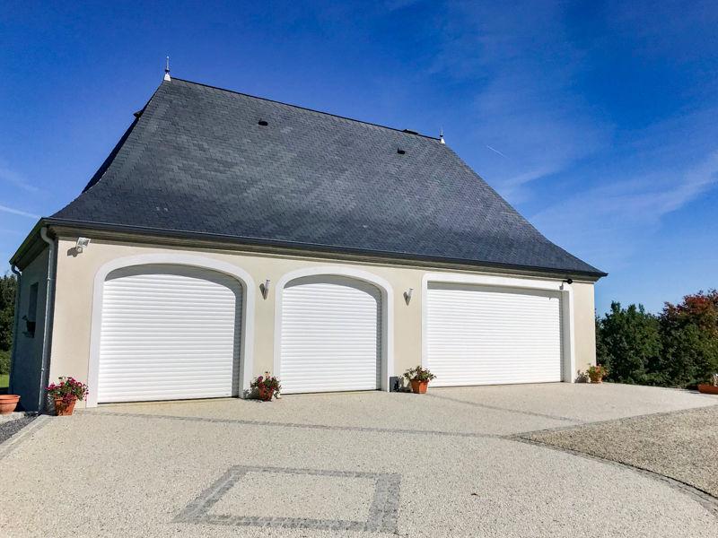 Porte de garage Aluminium FALLIERO BAR12345